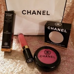 Two piece  make up set chanel New